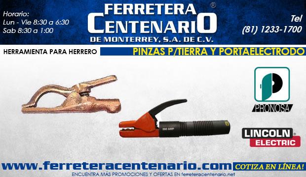 pinzas para tierra y portaelectrodo ferretera centenario de monterrey herramientas