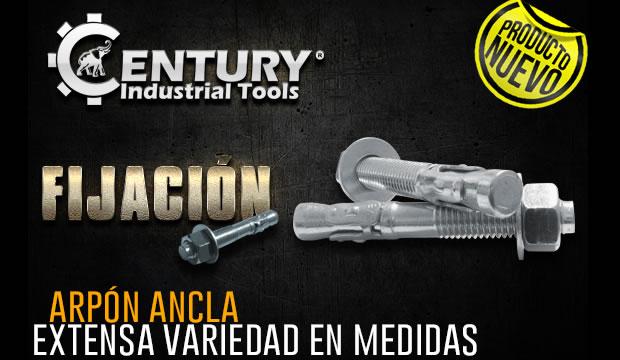 arpon ancla ferretra centenario de monterrey herramientas century industrial tools