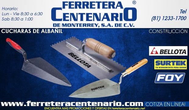 cucharas albañil albañileria construccion ferretera centenario demonterrey herramientas