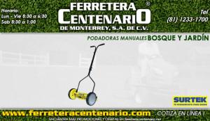 podadoras manuales ferertera centenario de monterrey mexico