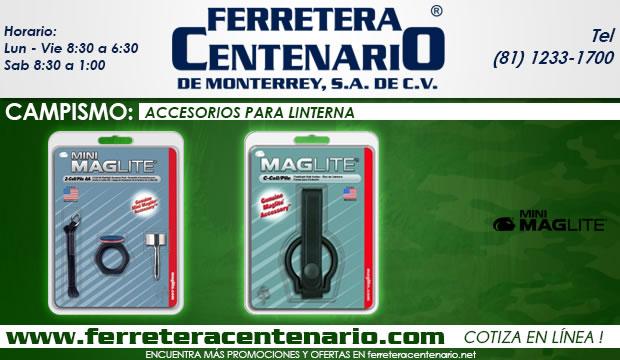 accesorios para linternas ferretera centenario de monterrey mexico campismo