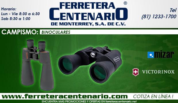 binoculares ferretera centenario de monterrey campismo victorinox