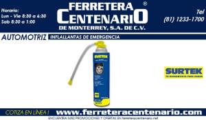 inflallantas de emergencia ferretera centenario de monterrey mexico