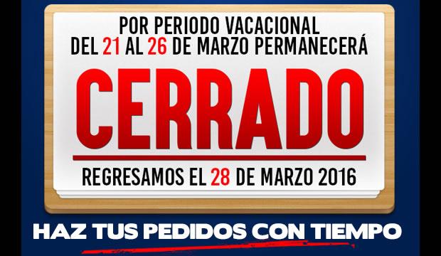 vacaciones marzo16 » Tienda de Herramientas - Ferretera Centenario - La Ferretería más grande de Monterrey
