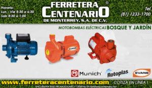 motobombas electricas ferretera centenario de monterrey bosque jardin herramientas