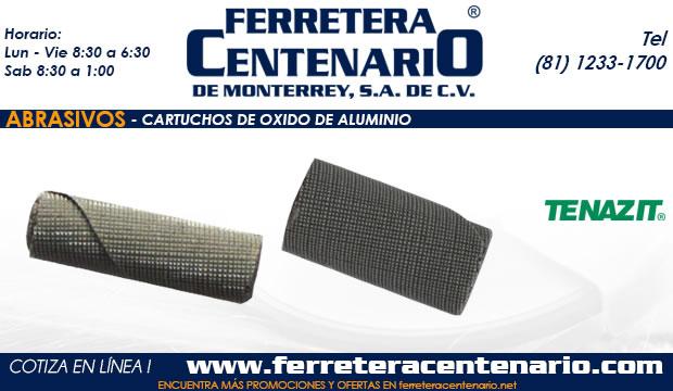 cartuchos de oxido de aluminio