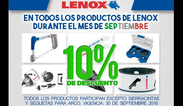 lenox ofertas ferretera centenario monterrey productos mexico