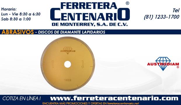 discos de diamante lapidarios ferretera centenario monterrey mexico