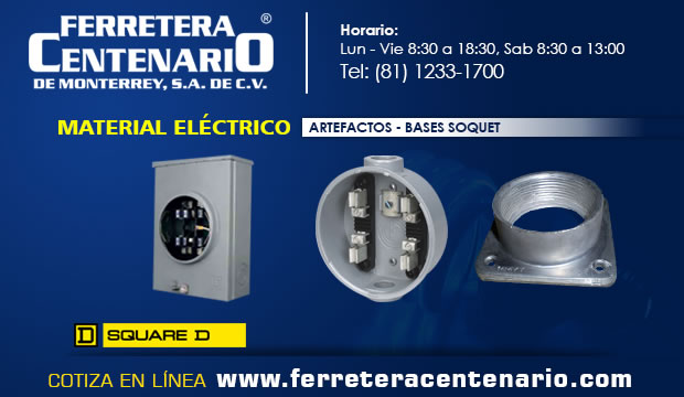 base soquet para medidor ferretera centenario monterrey mexico material electrico