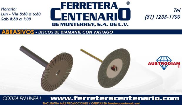 discos diamante vastagos abrasivos ferreter centenario monterrey mexico