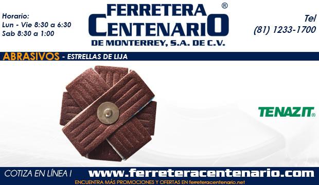 estrellas de lija ferretera centenario monterrey mexico