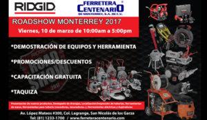 ridgid roadshow 2017 ferretera centenario monterrey mexico