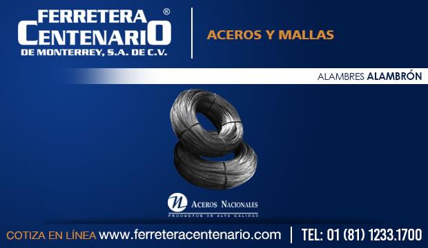 alambron aceros mallas ferretera centenario monterrey mexico
