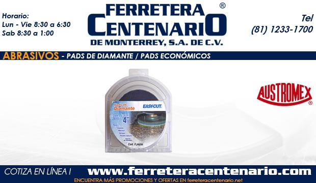 pads diamante economicos ferretera centenario monterrey mexico