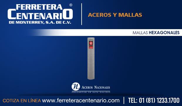 mallas hexagonales ferretera centenario monterrey mexico