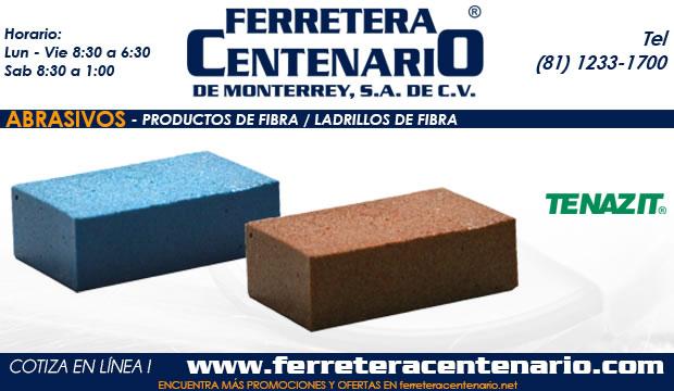 ladrillos de fibra abrasivos ferretera centenario monterrey mexico