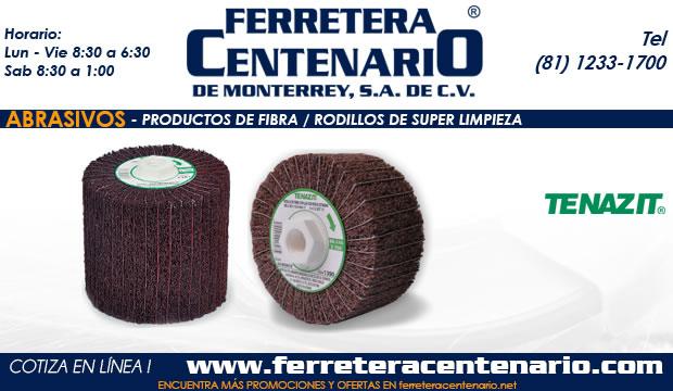super rodillos limpieza productos fibra ferretera centenario monterrey mexico abrasivos