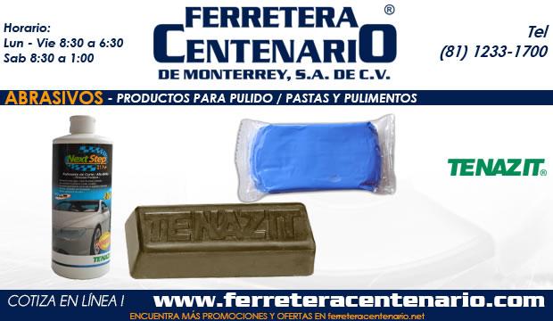 pastas pulimentos abrasivos ferretera centenario monterrey mexico