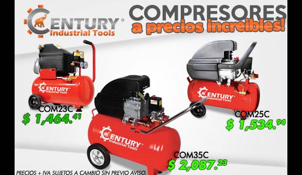 compresores a precios increibles ferretera centenario monterrey mexico century industrial tools