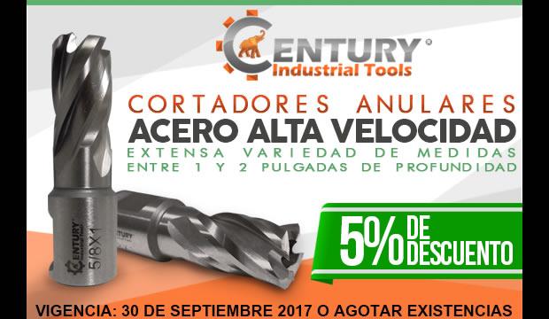 cortadores anulares alta velocidad descuento oferta promocion ferretera centenario monterrey mexico