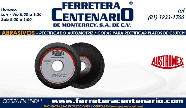 platos rectificar clutch abrasivos ferretera centenario monterrey mexico
