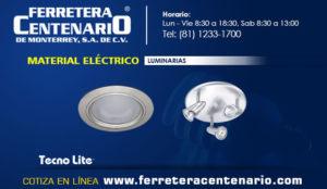 luminarias material electrico ferretera centenariomonterrey