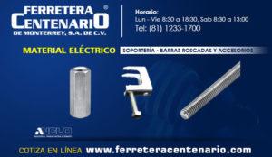 soporteria barras roscadas accesorios material electrico ferretera centenario monterrey mexico
