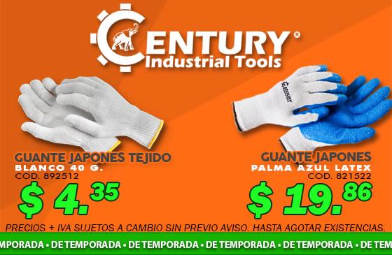 guante japones ferretera centenario monterrey mexico century industrial tools