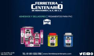 pegamento pvc tangit ferretera centenario monterrey mexico