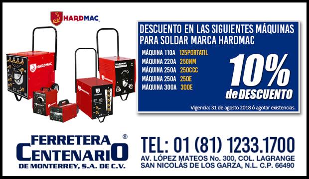 maquina soldar hardmac descuento ferretera centenario monterrey mexico