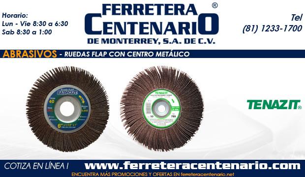 ruedas flap centro metalico ferretrea centenario monterrey mexico abrasivos