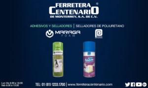 selladores de poliuretano ferretera centenario monterrey mexico