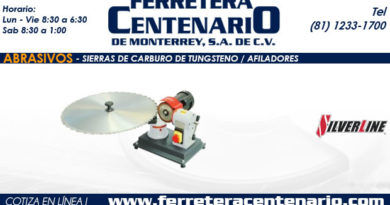afiladores tunsgteno sierras de carburo ferretera centenario monterrey mexico abrasivos