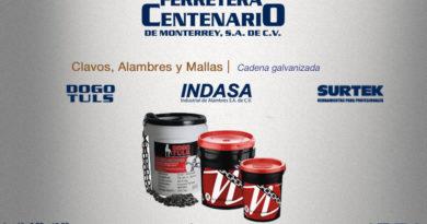 cadena galvanizada ferretera centenario monterrey mexico