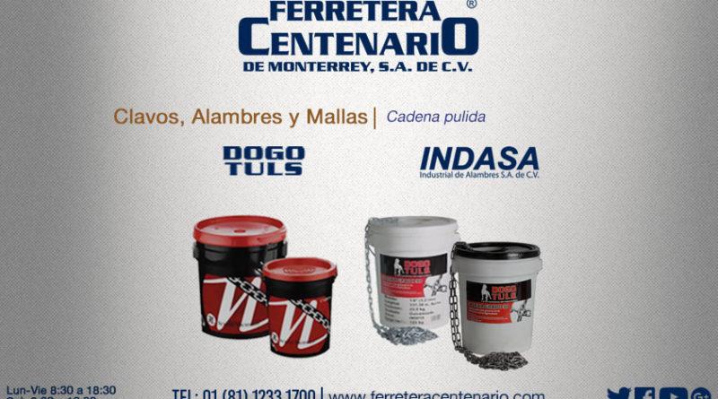 cadena pulida ferretera centenario monterrey mexico herramientas