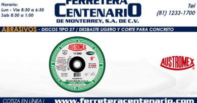 T27 Desbaste Ligero Corte Concreto ferretera centenario monterrey mexico abrasivos