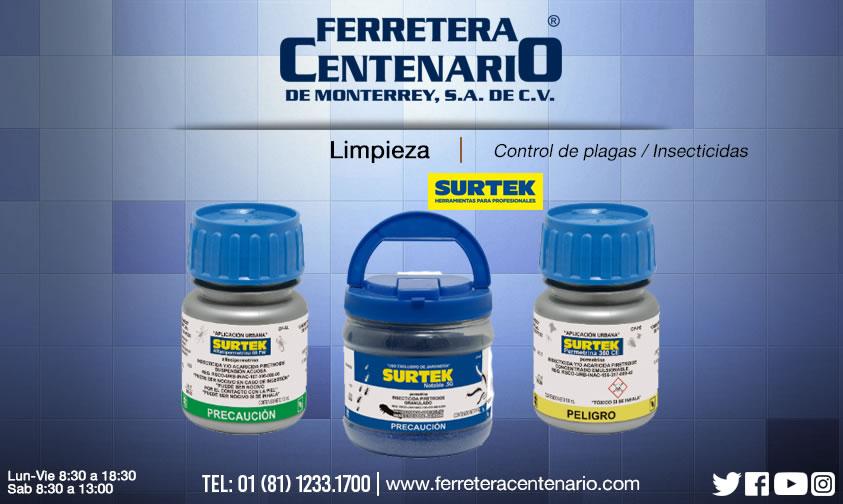 Control de plagas e insecticidas ferretera centenario monterrey mexico