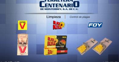 limpieza control plagas ferretera centenario monterrey mexico
