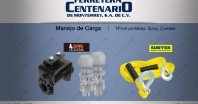 Equipo herramientas manejo de carga ferretera centenario monterrey