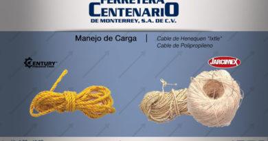 manejo carga cable ixtle henequen polipropileno ferretera centenario monterrey mexico