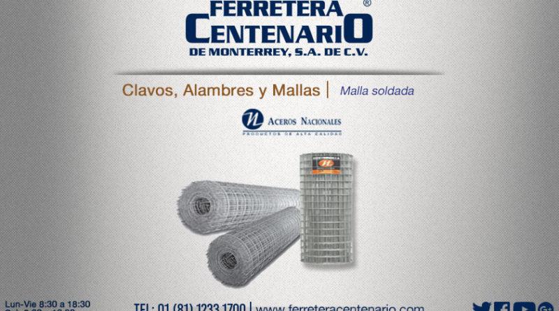 malla soldada ferretera centenario de monterrey mexico