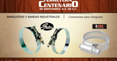 conexiones maguera ferretera centenario monterrey mexico gates dogo tulsmangueras bandas industriales