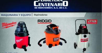 aspiradoras milwaukee ridgid urrea ferretera centenario monterrey mexico maquinaria equipo