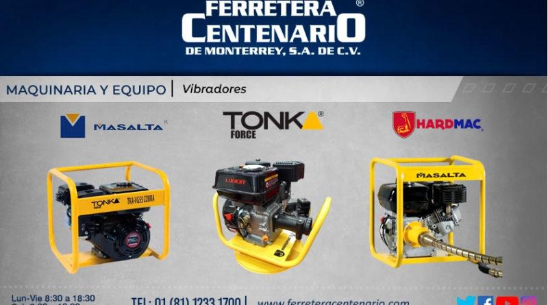 vibradores industriales maquinaria equipo ferretera centenario monterrey mexico herramientas