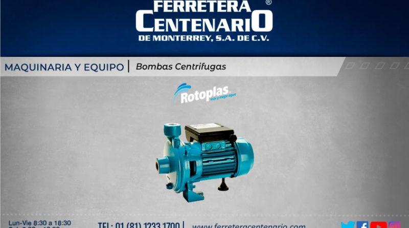 bomba centrifuga ferretera centenario monterrey mexico rotoplas maquinaria equipos