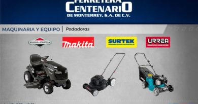 podadoras ferretera centenario monterrey mexico maquinaria equipos makita surtek urrea briggs & stratton