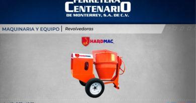 revolvedoras hardmac maquinas equipos maquinaria ferretera centenario monterrey mexico