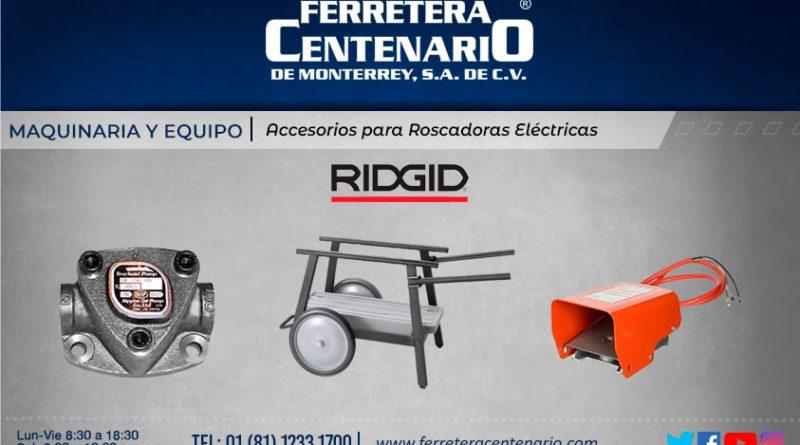 accesorios roscadoras electricas ferretera centenario monterrey mexico maquinas maquinaria herramientas equipos