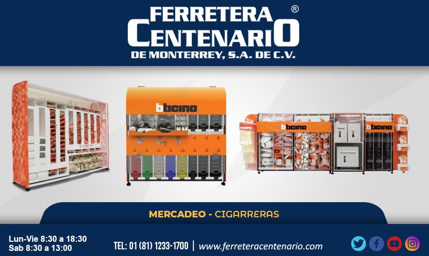 cigarreras mercadeo productos ferretera centenario monterrey mexico bticino