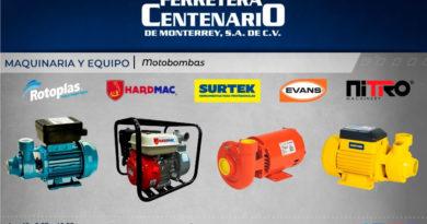 motobombas hardmac rotoplas surtek evans nitro maquinaria equipos ferretera centenario monterrey mexico
